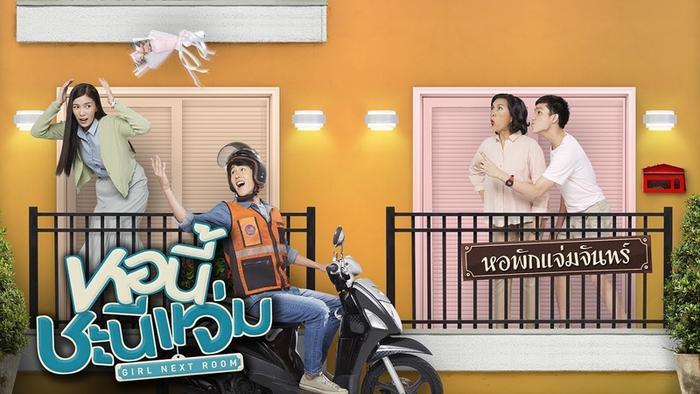 Trúc Anh (The Face) hóa siêu sao, yêu anh bảo vệ trong Girl Next Room  Series phim hot tháng 3 của GMM25 Thái Lan ảnh 2