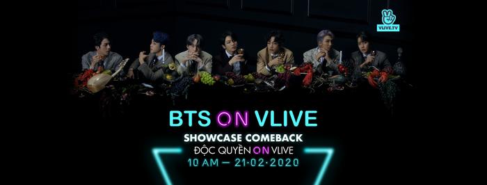 VLive có bất ngờ cực lớn cho ARMY: Showcase comeback của BTS đã sẵn sàng chờ bạn nhập cuộc ảnh 1