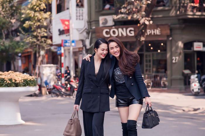 Hương Baby và Trang Nhung cùng nhau dạo phố khoe nhan sắc xinh đẹp ảnh 8
