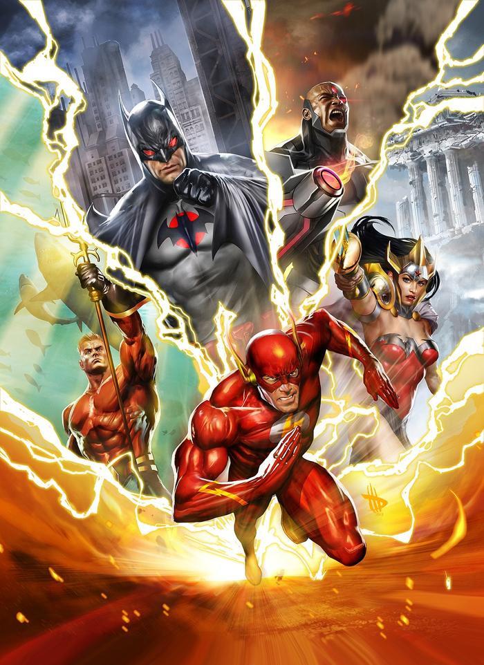 Sự kiện Flashpoint sẽ là bối cảnh chính trong The Flash 2022.