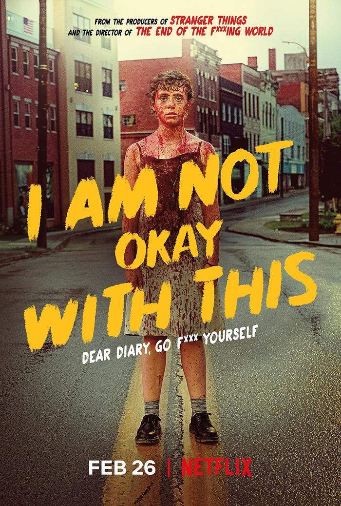 I Am Not Okay With This  Câu chuyện khó ở của thiếu nữ nổi loạn có sức mạnh bá đạo ảnh 1