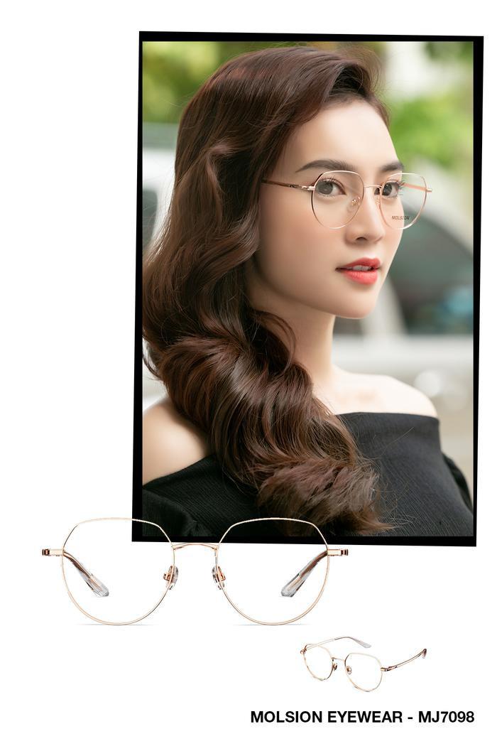 Ninh Dương Lan Ngọc và loạt sao biến hoá phong cách cùng kính mắt Molison ảnh 5