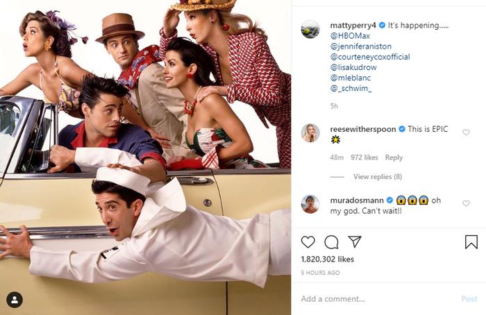 Sau 16 năm, dàn diễn viên Friends chính thức hội ngộ vô cùng hoành tráng trên HBO Max ảnh 6