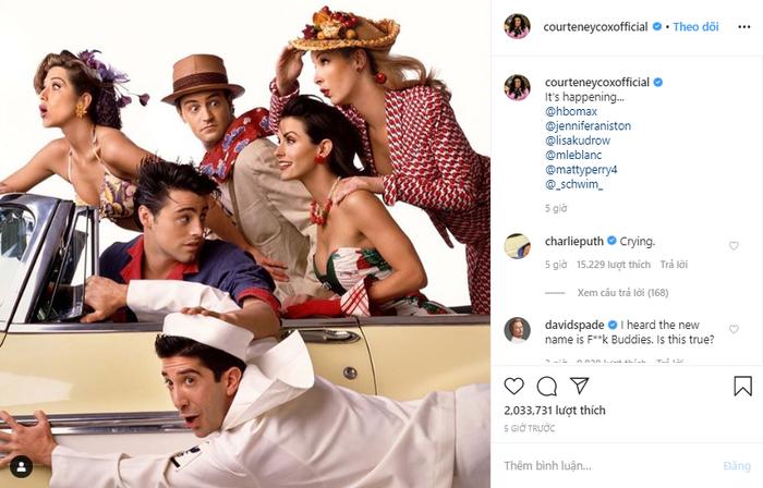 Sau 16 năm, dàn diễn viên Friends chính thức hội ngộ vô cùng hoành tráng trên HBO Max ảnh 5