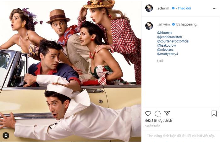 Sau 16 năm, dàn diễn viên Friends chính thức hội ngộ vô cùng hoành tráng trên HBO Max ảnh 3