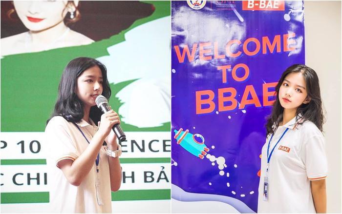 Hiện tại, Phan Thị Minh Hằng đang là sinh viên ngành B-BAE của trường đại học Kinh tế quốc dân.
