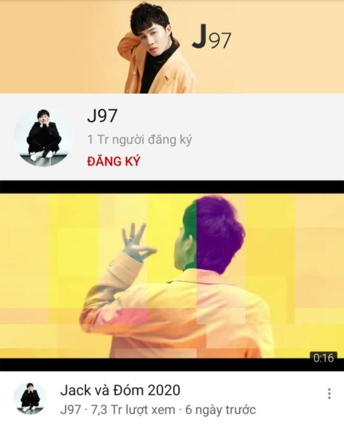 Chỉ 2 clip chụp hình sương sương, Jack chính thức lập kỉ lục ẵm nút vàng Youtube với 1 triệu người theo dõi nhanh nhất Việt Nam ảnh 0
