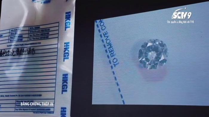 Viên kim cương tìm thấy trong bụng Hà Chí Nghiêu dẫn cảnh sát đến vụ án lô kim cương lậu năm xưa của nhà họ Hà.