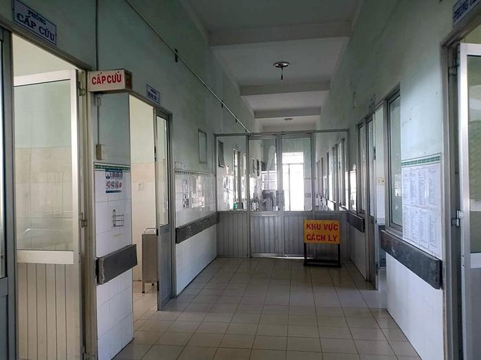 Khu vực cách ly tại Bệnh viện Bình Thuận. Ảnh: báo Pháp Luật TP HCM