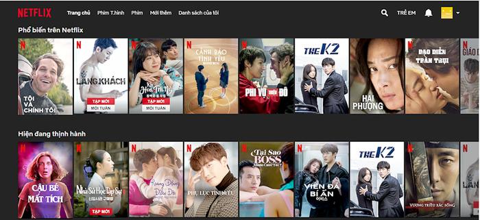 Netflix đã có giao diện tiếng Việt cho người dùng