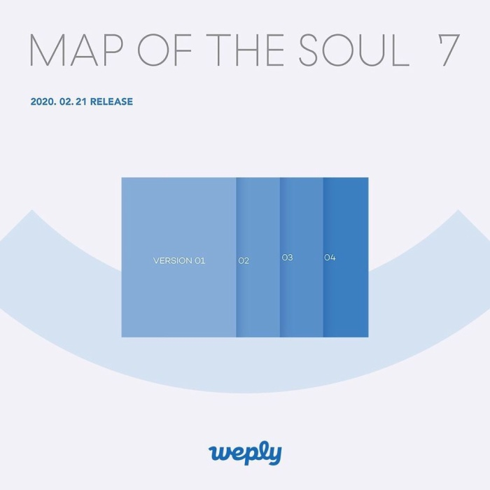 Album Map Of The Soul: 7.