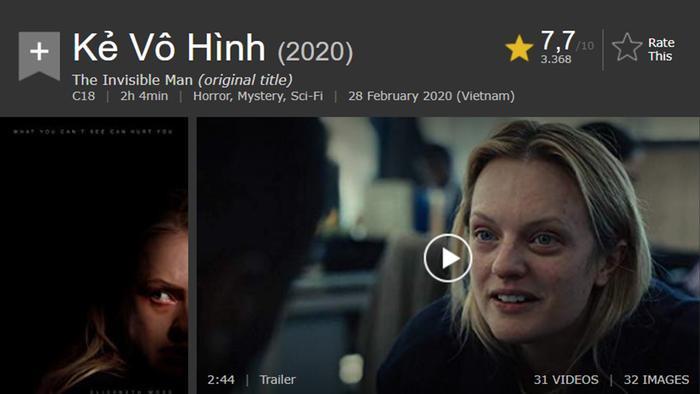 Vì sao 'The Invisible Man' nhận cơn mưa lời khen cùng số điểm tích cực?