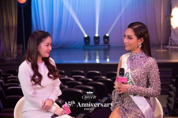Hoài Sa hát nhạc Diva, Vicky Trần nhảy hiện đại cùng lọt Top 13 Tài năng tại Miss Int Queen 2020 ảnh 7