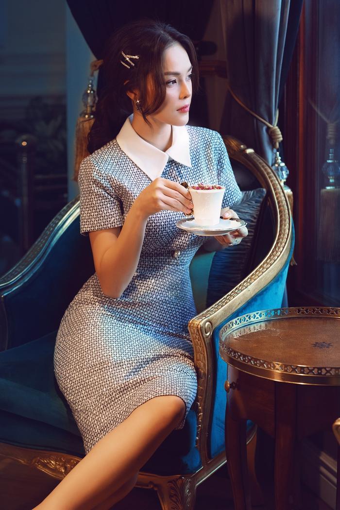 Dương Cẩm Lynh thu hút mọi ánh nhìn với bộ ảnh mới nhất: Đẹp nền nã, dịu dàng ảnh 3