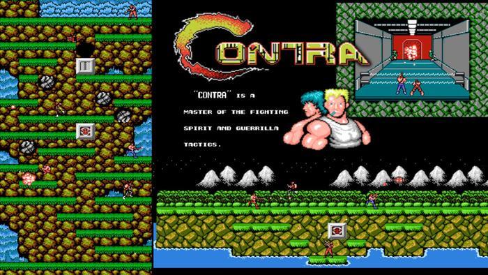 Không chỉ Contra, mậtmã này sau đó xuất hiện trên các trò chơi khác của Konami.(Ảnh: Konami)