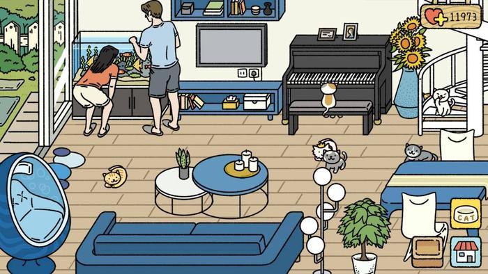 6 lý do khiến tựa game nuôi mèo  xây tổ ấm Adorable Home làm dân tình sốt xình xịch ảnh 3