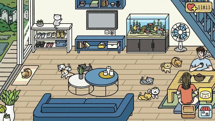 6 lý do khiến tựa game nuôi mèo  xây tổ ấm Adorable Home làm dân tình sốt xình xịch ảnh 1