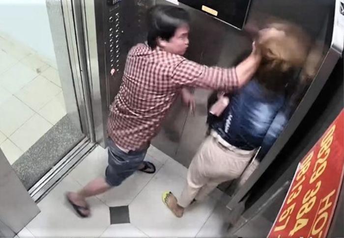 Bức xúc vụ cô gái bị bạo hành trong thang máy, bạn gái Đặng Văn Lâm chia sẻ cách phòng thân