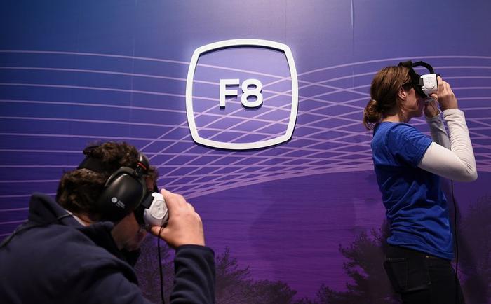 F8 là một trong những sự kiện lớn nhất của Facebook trong năm. (Ảnh: Bloomberg)