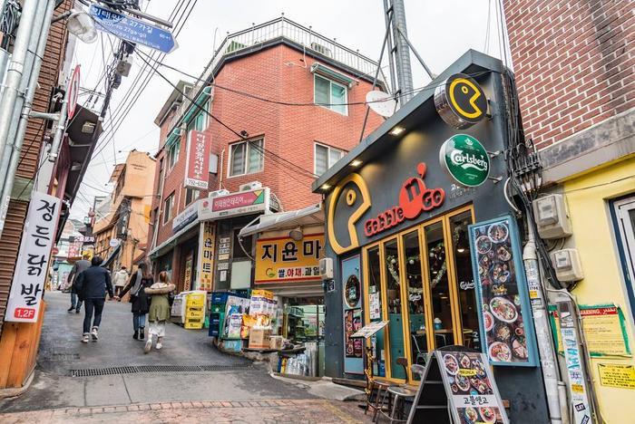 Khu phố Itaewon trong Tầng lớp Itaewon: Đẹp từ trong phim đến ngoài đời thực ảnh 1