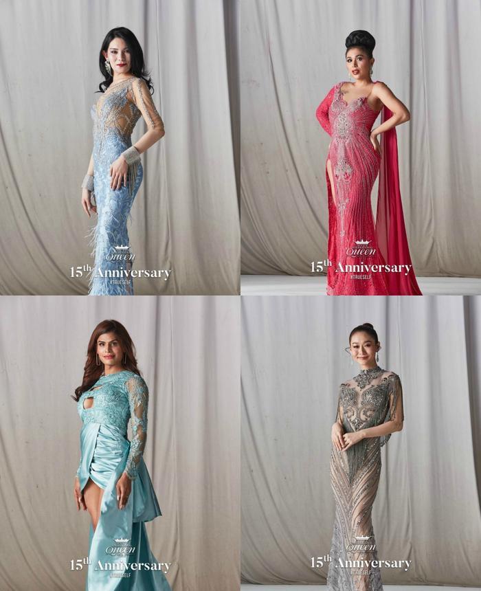 21 hoa hậu chuyển giới lộ váy dạ hội cầu kỳ, đầm chung kết của Hoài Sa bị fan chê sến sẩm ảnh 8