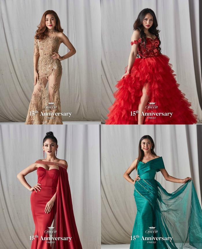 21 hoa hậu chuyển giới lộ váy dạ hội cầu kỳ, đầm chung kết của Hoài Sa bị fan chê sến sẩm ảnh 9