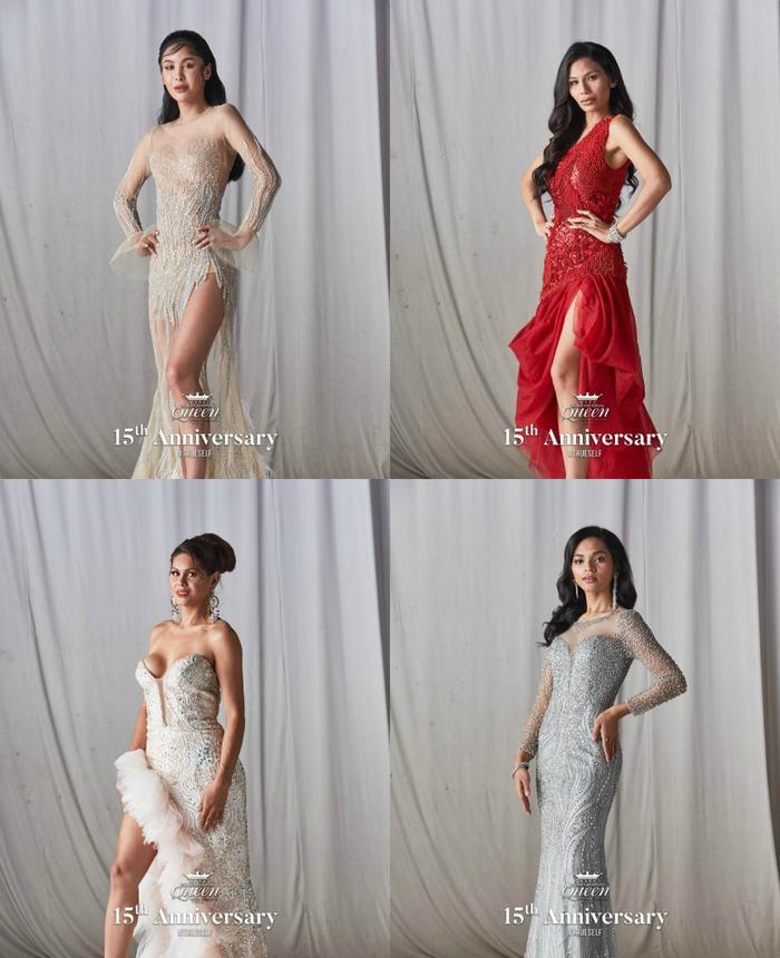 21 hoa hậu chuyển giới lộ váy dạ hội cầu kỳ, đầm chung kết của Hoài Sa bị fan chê sến sẩm ảnh 10
