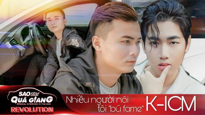 HuyR: 'Không hiểu sao nói tôi bú fame K-ICM, thấy lạ vì trước giờ chỉ thấy người ta bú fame hay, fame đẹp thôi'