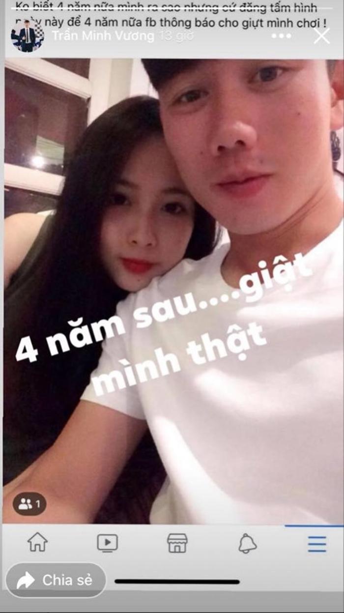 Minh Vương 'giật mình' khi nhắc về bạn gái cũ