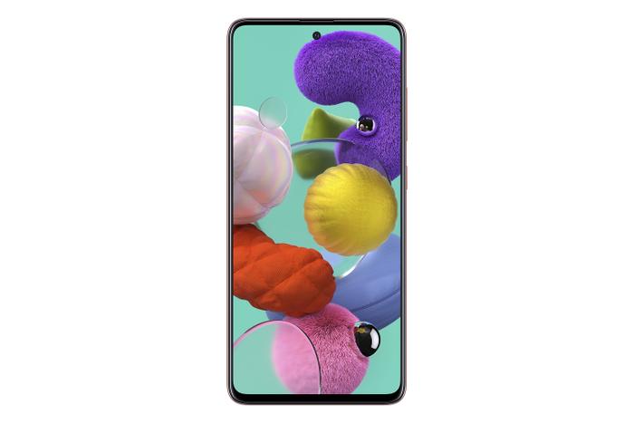 """Galaxy A51 cũng sở hữu màn hình Super AMOLED tràn viền vô cực Infinity-O 6.5"""""""