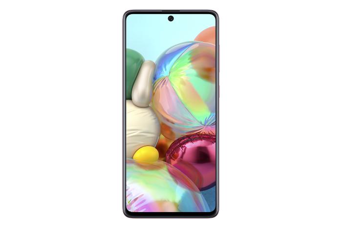 """Galaxy A71 sở hữu màn hình tràn viền vô cực Infinity-O 6.7"""""""