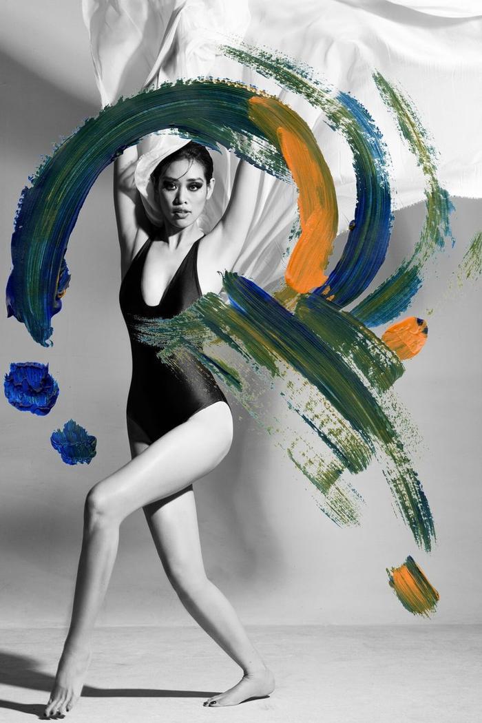 Khánh Vân tung bộ ảnh đẳng cấp, không hổ danh giải Bạc Siêu mẫu kiêm Hoa hậu Hoàn vũ Việt Nam ảnh 14