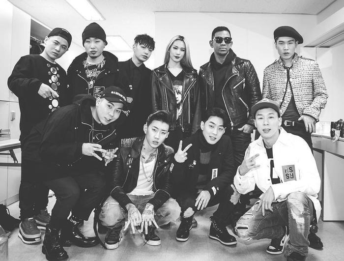 AOMG là ngôi nhà của hàng loạt tên tuổi rapper, producer đình đám Hàn Quốc.