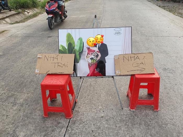 Dân mạng thích thú khi chứng kiến đám cưới của các cặp đôi 'yêu xa… trong gang tấc'