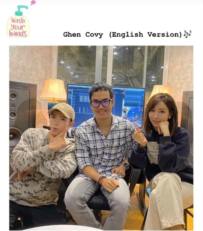 Được truyền thông quốc tế quan tâm, Min và Erik bắt tay thực hiện bản tiếng Anh cho Ghen Cô Vy