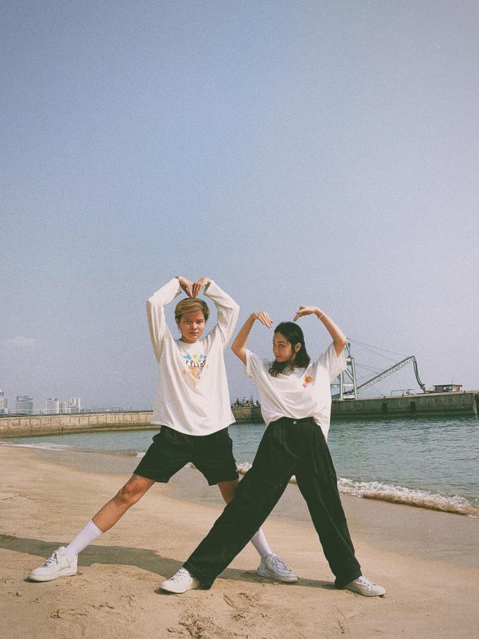 Câu chuyện tình yêu của cặp đôi bách hợp gây sốt cộng đồng mạng trong Vlog của Giang Ơi ảnh 3