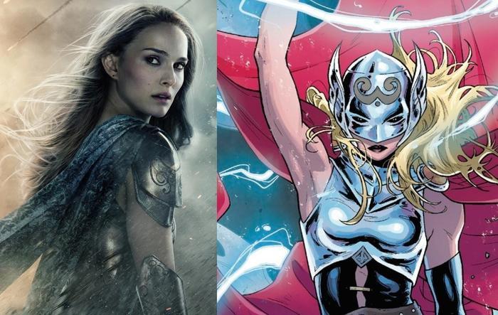 Natalie Portman sẽ là Thor phiên bản nữ