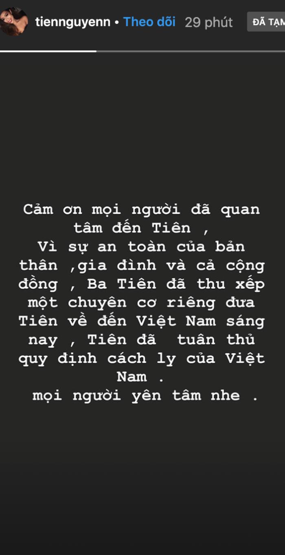 Thiếu gia Phillip Nguyễn gây chú ý với dòng chia sẻ sau khi em gái Tiên Nguyễn được đưa về nước cách ly ảnh 1