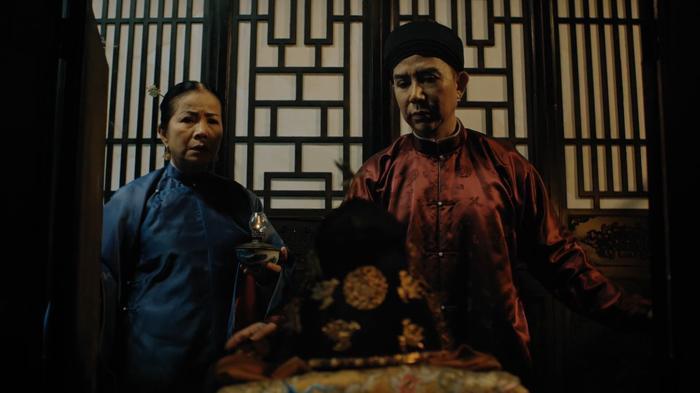 Chu Phúc Năng theo phe Phi Hiền, giúp bà chiếm lấy ngôi vị Hoàng thái phi.