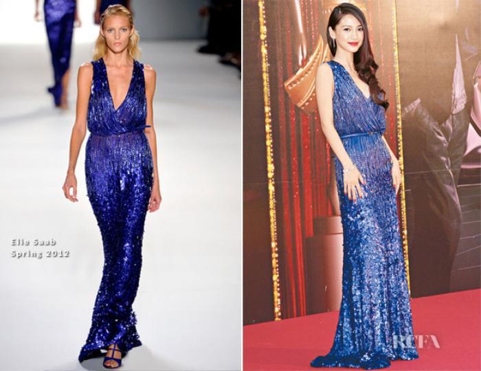 Bỏ tai ngoài lời chê bai, Lưu Diệc Phi đẹp mê hồn với chiếc đầm Haute Couture Elie Saab xa xỉ