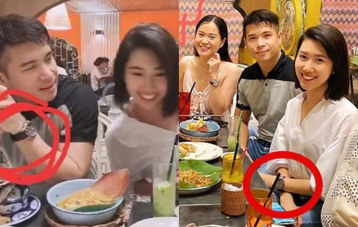 Phủ nhận chuyện hẹn hò, Thuý Ngân - Trương Thế Vinh vẫn đeo đồng hồ đôi?