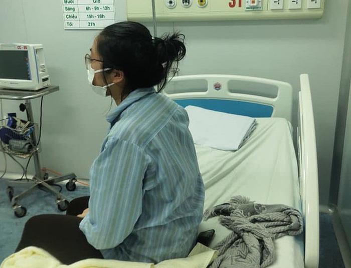Bệnh nhân N đang được điều trị cách ly tại Bệnh viện Nhiệt đới cơ sở 2 (Đông Anh, Hà Nội).