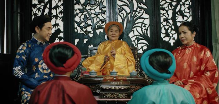 """Cảnh chọn cúc """"kinh điển"""" nhằm phân định vị trí Nguyên cơ – Trắc cơ của Miên Tông."""