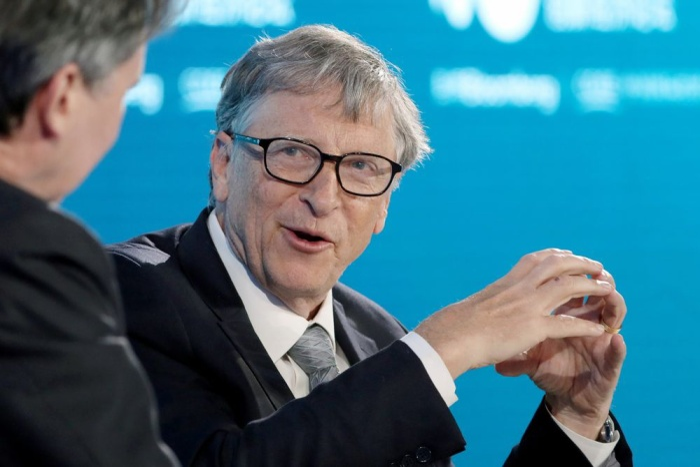 Microsoft hiện tại là một trong những công ty hiếm hoi trên thế giới có giá trị vốn hoá vượt mốc 1 nghìn tỉ USD. (Ảnh: Bloomberg)