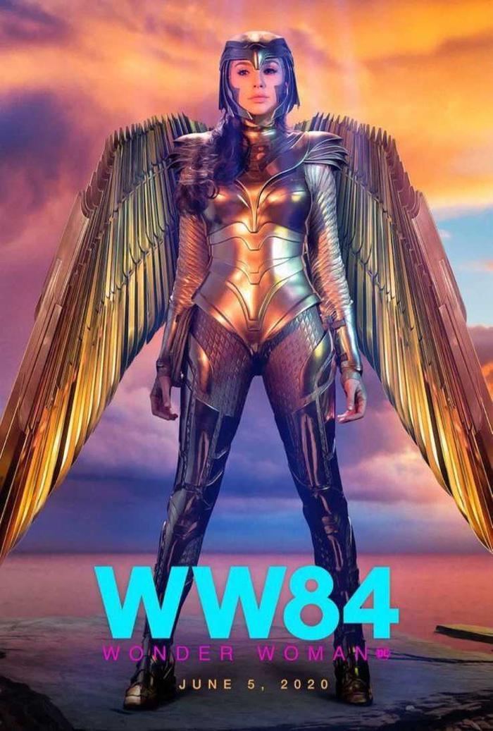 Wonder Woman 1984 tung poster mới, nhưng ngày ra mắt liệu có bị đổi? ảnh 3