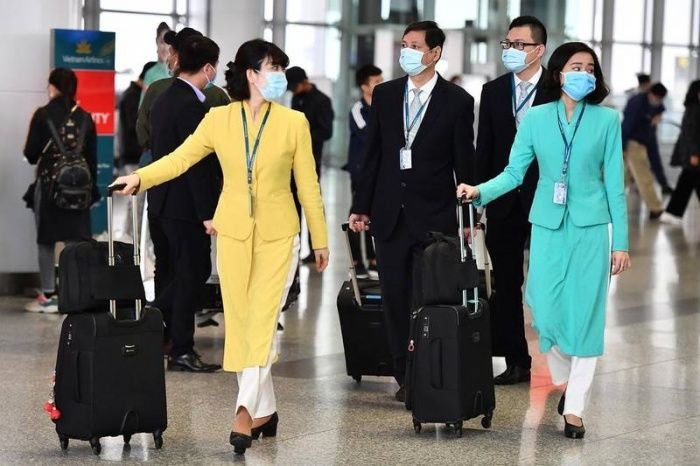 12 hành khách đi cùng chuyến bay với nữ tiếp viên hàng không nhiễm COVID-19, cũng là bệnh nhân thứ 46 đã cho kết quả xét nghiệm âm tính. Ảnh minh họa