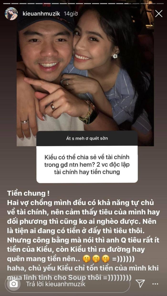 Ca nương Kiều Anh bày fan cách 'diệt tình cũ' của người yêu cùng kinh nghiệm giữ gìn hạnh phúc hôn nhân