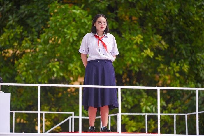 Vân Tâm – học sinh trường THCS Hồng Bàng
