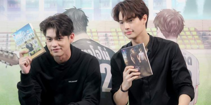 Hai nam chính trong phim đồng tính Thái Lan 'Bởi vì chúng ta là một đôi' mở tài khoản Weibo, điểm Douban đạt 9.2