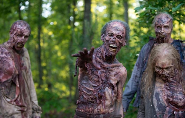 """Bộ phim xác sống kinh điển """"The Walking Dead""""."""